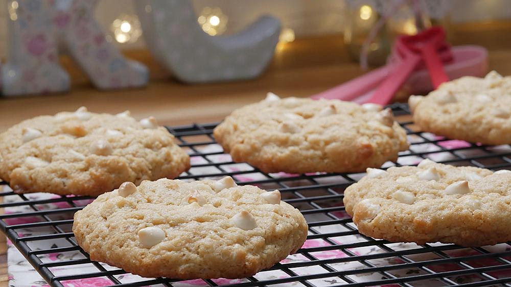 Cookie de Limão com Chocolate Branco