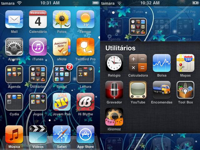 Atualização iOS 4 iTouch