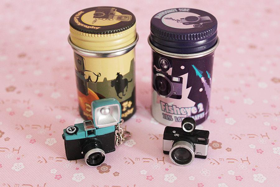 Mini Câmeras Lomograficas