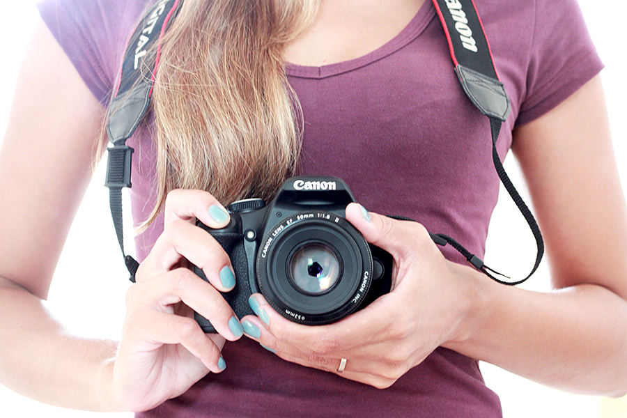 Eu e minha câmera