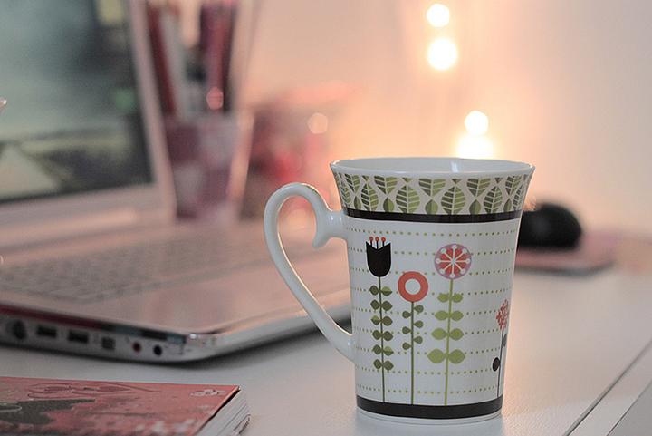 Dia de chá quentinho e internet