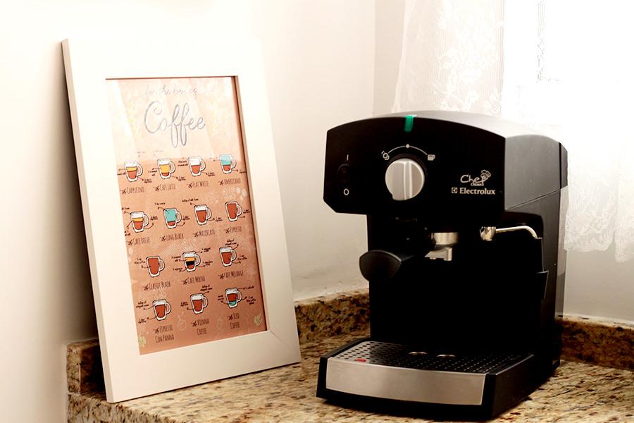 Ilustração: For the Love of Coffee
