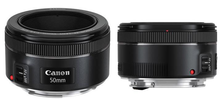 A nova 50mm f/1.8 da Canon