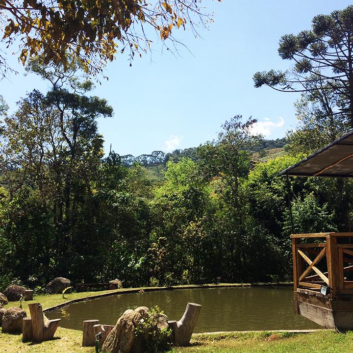Lago do restaurante Recanto do Pico