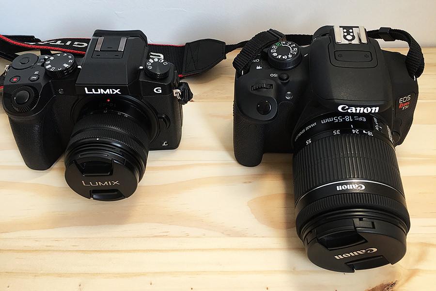 Panasonic DMC-G7 x Canon T5i