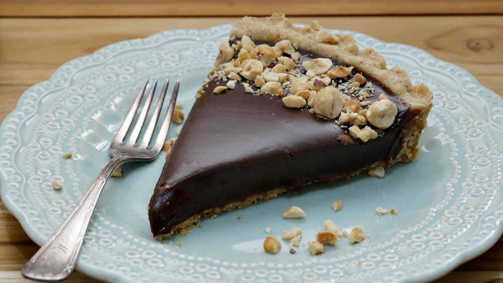 Torta de Chocolate com Avelã